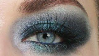 Smokey Navy Blue Eye Makeup Tutorial