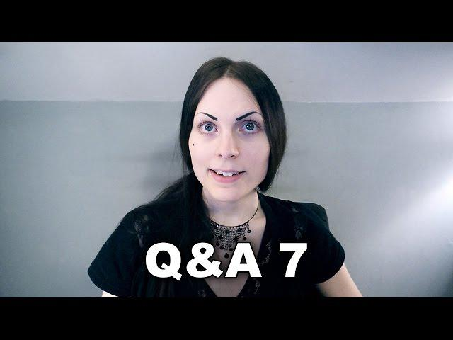 Q&A 7 + Weird Messages (July, 2014 - August, 2014)
