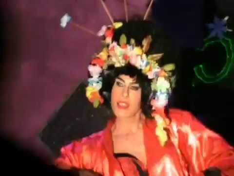 "Valentine performing ""Nothing really matters"" - Madonna drag queen show"