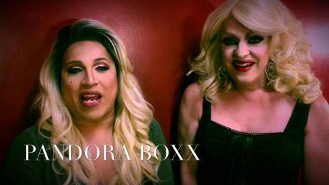 PANDRORA BOXX CHATS WITH THE QUEEN OF TALK