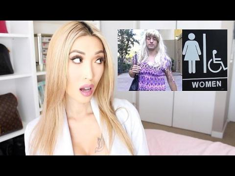 Europe & JoeySalads Transgender Bathroom Experiment