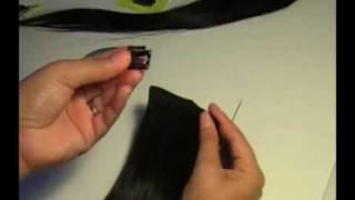 How To Make Clip In Hair Extensions