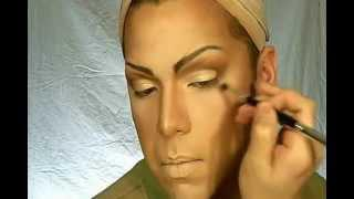 Drag Queen Natural Makeup Look Pin Up!?
