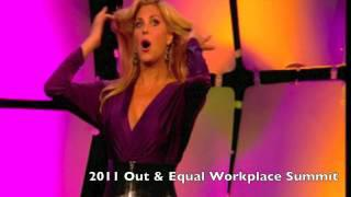 Candis Cayne Performance - 2011 Out&Equal Workplace Summit