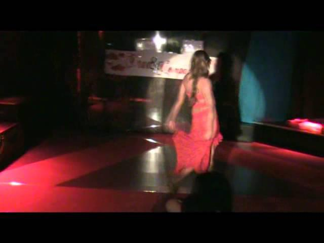 "Valentine tgirl performing "" Des Ronds Dans L'eau"" by travcompany"