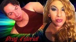 Boy To Girl Drag Transformation : Makeup Tutorial