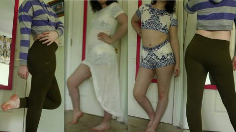 Try on Clothing Haul: Crop Tops, High Waisted and Matching Sets!| Raiden Quinn