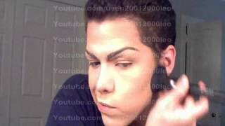 Drag Queen Makeup Fast Tutorial 2012