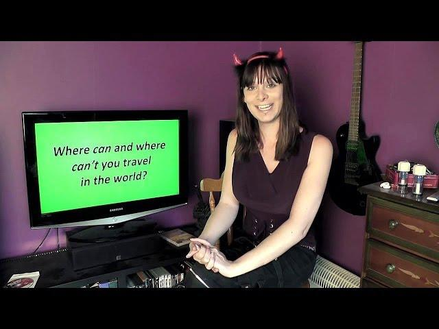 Ask A Transsexual - Dangers in Traveling, Gay Marriage and Moving to the USA