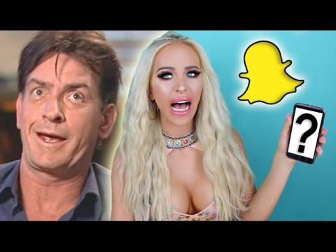 SNAPCHAT Q&A: MEETING CHARLIE SHEEN?! | Gigi