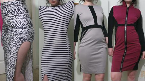 Try-On Haul: Futuristic Dresses and Mixed Fabric! Ft. Pink Queen | Raiden Quinn