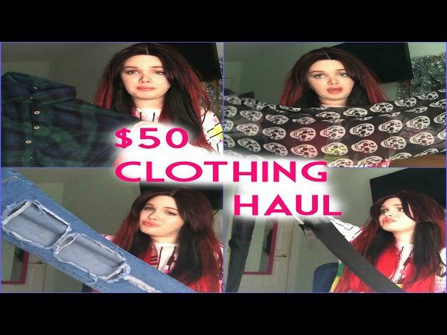 HUGE Clothing Haul for under $50!!!! Kylie Jenner Inspired!| Raiden Quinn