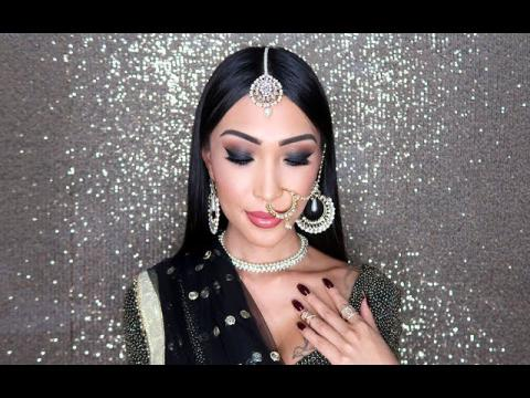 Indian Smokey Eye Makeup
