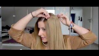 Clip In Hair Extensions Haarverlängerung Einfach Selber Einsetzen