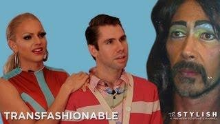 STRAIGHT HUSBAND GOES DRAG: TRANSFASHIONABLE