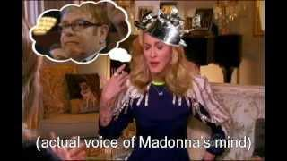 EXCLUSIVE! Madonna On Nightline 2012 UNSEEN INTERVIEW