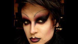 Gothic Dark Makeup Drag Queen !!!