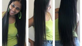 Clip In Hair Extensions Tutorial - How To Make Your Own