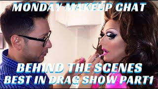 How To Become A Drag Queen Step By Step Part 1 #MONDAYMAKEUPCHAT- Mathias4makeup