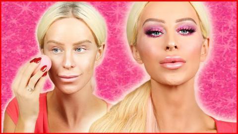 Bold Pink & Purple Makeup Look | Gigi