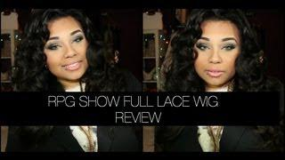 KIM KARDASHIAN INSPIRED FULL LACE WIG FT RPGSHOW |STYLING&REVIEW