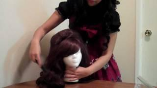 Hime Gyaru Lolita Hairstyle Wig Tutorial