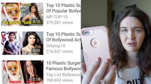 People Are Using My Plastic Surgery Picture as Click-Bait...