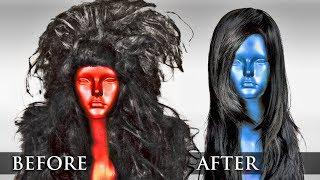 How To: Fix Damaged Synthetic Hair? Turn Old Wigs Into New Ones