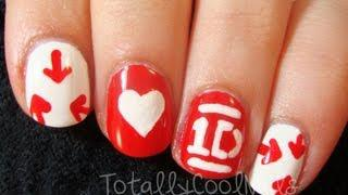 One Direction Logo Nail Art