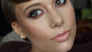 Quick Copper Smokey Eye Makeup Tutorial