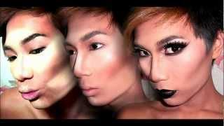 DRAG Foundation, Contour,&Highlight Makeup Tutorial