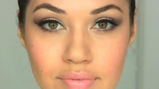 Peachy Nude Makeup Tutorial