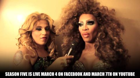 March with The Queen The Queen of Talk Spanglish Interview with RPDR Star Lineyshe Spark
