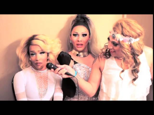 LARRAINE BOW'S HO DOWN WITH DRAG RACE SEASON 7 KANDY HO AND QUEEN B HO