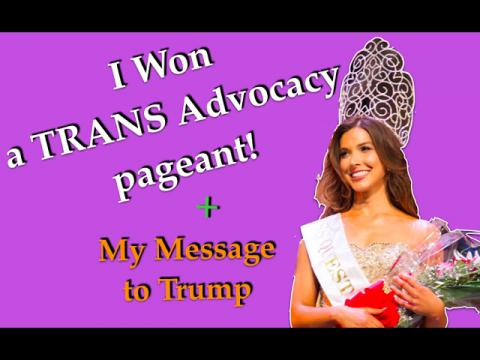 I Won My 1st TRANS Pageant + My Message to Trump | Caroland