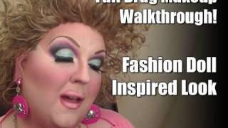 Fashion Doll Inspired Look: FULL Drag Makeup Tutorial!