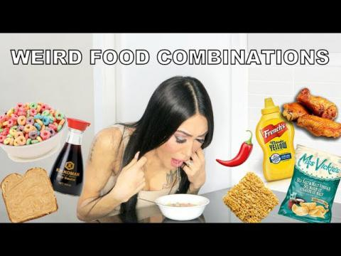 WEIRD FOOD COMBINATIONS CHALLENGE!