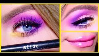 ♡Vibrant Purple Makeup Tutorial♡ | Gigi