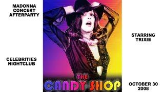 Sticky And Sweet Madonna Mania In Vancouver: The Candy Shop Experience