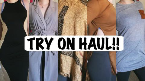 TRY ON HAUL: Must Have Fall/Winter Stable Items For LESS! Ft OASAP!