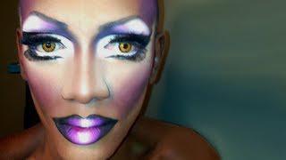 Go To Drag Queen Eye Makeup&Matte Ombre Lip Tutorial