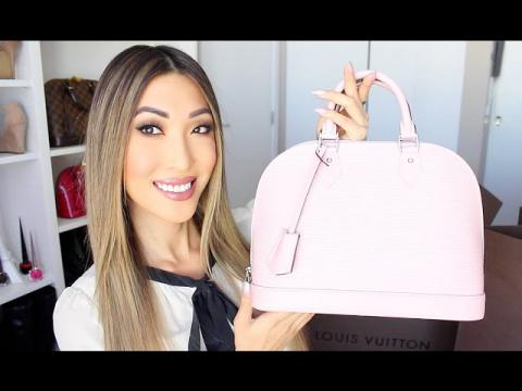 New Bag Reveal! (Louis Vuitton Alma Epi Rose Ballerine)
