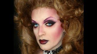 VAMPIRE INSPIRED LOOK MAKEUP DRAG QUEEN