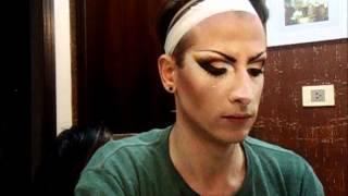 Make Up Transformação Drag Queen Taylla Witch Part 2