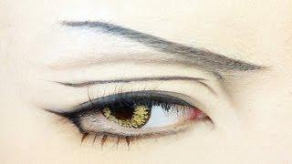 Tutorial : Anime Eye Makeup 40
