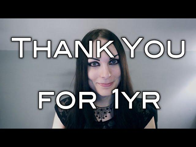 Thank You for 1 Year on YouTube!