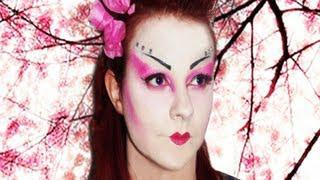 Geisha Inspired Makeup Tutorial!