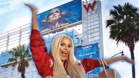 I'M ON A BILLBOARD?! | Gigi