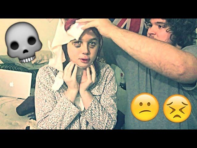 FFS Surgery Post OP Vlog Day #15: HOW TO Put on my Head Wrap! + Kissing Nurse Joey| Raiden Quinn