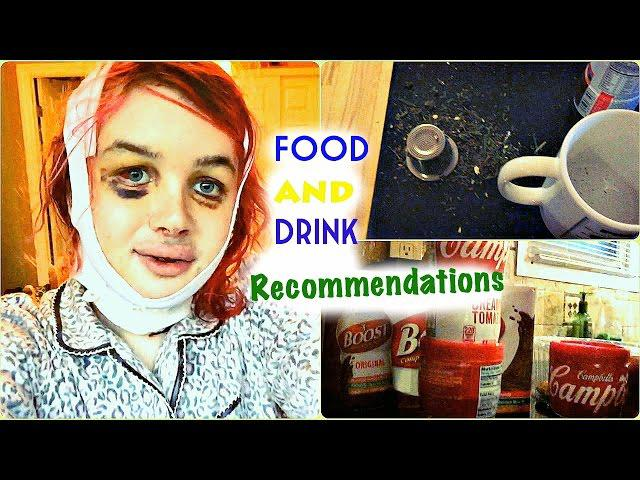 FFS Surgery Post OP Vlog Day #14: Food and Drink Recommendations  + Fail| RL 1/24/15| Raiden Quinn